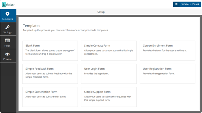 Edwiser Forms Forms Plugin for Moodle
